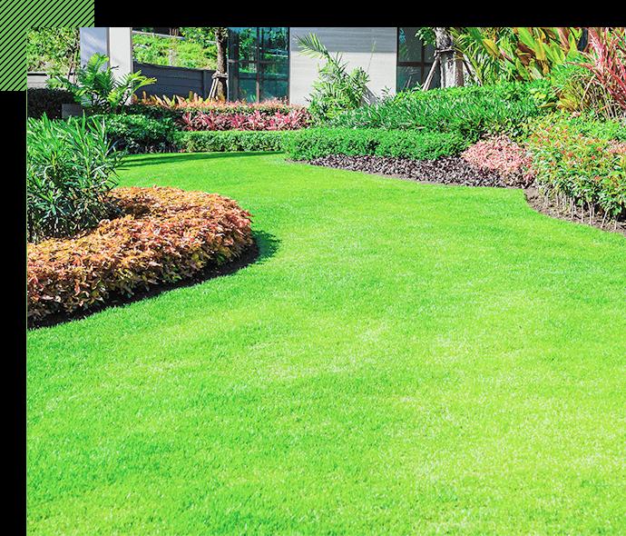 10年間草が生えない。メンテナンスフリーのお庭を実現